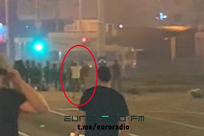 Момент предполагаемого убийства белоруса силовиками показали на видео