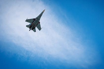 Очередной перехват самолета США над Черным морем российским Су-27 попал на видео