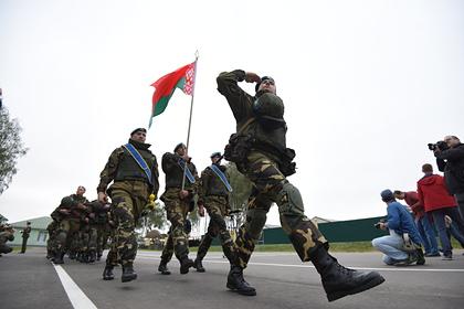Белоруссия объявила о начале военных учений у границы с Литвой