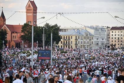 МВД Белоруссии опровергло информацию о тысячах задержанных на акциях протеста