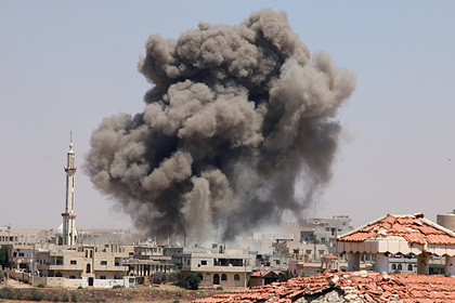 Силы США нанесли авиаудар поармии Асада