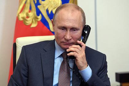 Путин и Меркель обсудили кризис в Белоруссии