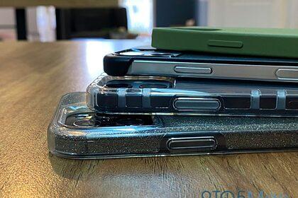 Новые iPhone показали в чехлах