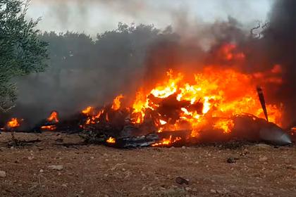 Турецких боевиков заподозрили в уничтожении двух беспилотников США в Сирии