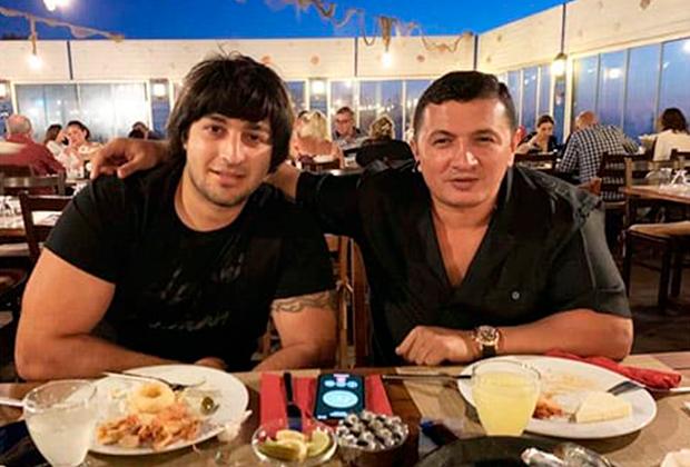 Хаган Зейналов (Хан Бакинский) и Надир Салифов