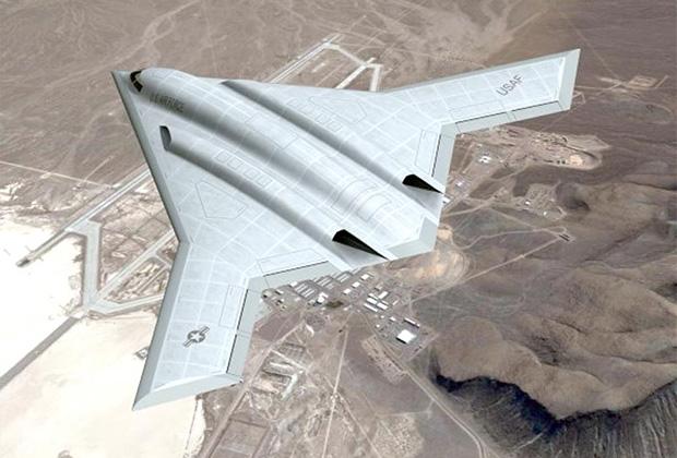 Один из концептов B-21 Raider