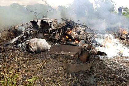 В центральной Африке разбился самолет