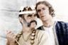 Приключенческую нетленку Джона Хьюстона сам Коннери не раз называл любимым фильмом с собственным участием. Неудивительно — эта экранизация повести Киплинга не только представляет собой образцовые, идеальные и по лихости поворотов сюжета, и по эпичности постановки киноприключения, но и свела вместе Коннери и Майкла Кейна, создав один из самых убедительных и обаятельных актерских дуэтов в кино семидесятых. Играют Коннери и Кейн двух авантюристов-дезертиров, которые находят на свою голову в Индии XIX века не только приключения, но и обожествление.