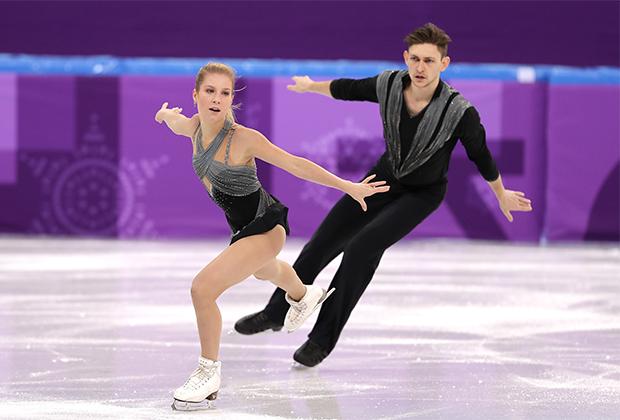 Олимпийские игры-2018. Екатерина Александровская и Харли Виндзор