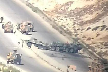Чеченские боевики атаковали российско-турецкий патруль в Сирии