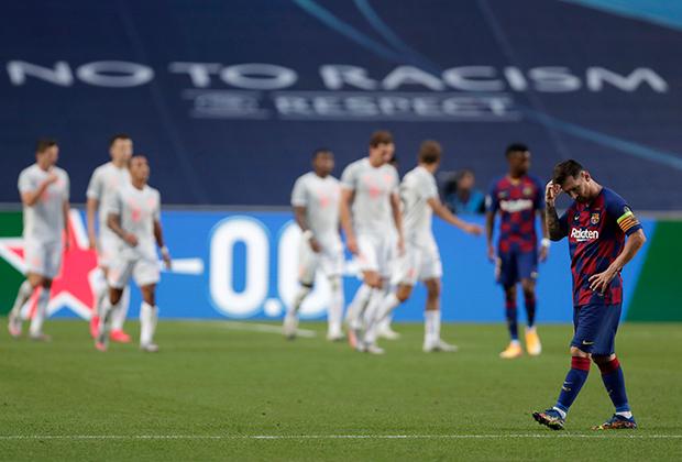 Матч «Барселона» — «Бавария»