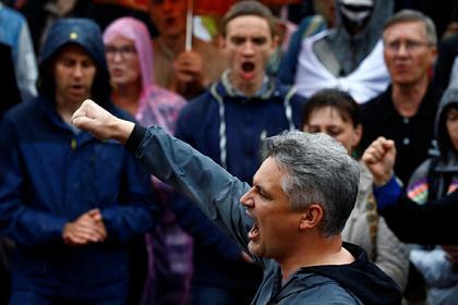 МВД Белоруссии сравнило численность протестных и провластных акций