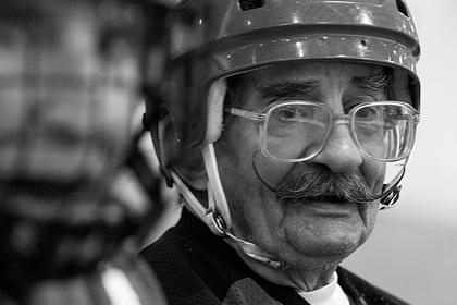 Умер старейший хоккеист в мире