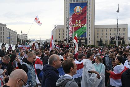 В Белоруссии создали комиссию для проверки жалоб на разгон протестов