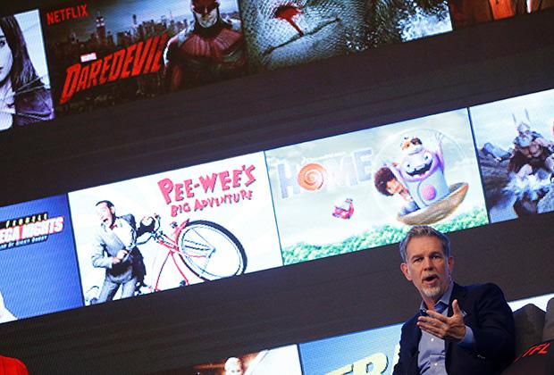 Глава Netflix Рид Хастингс