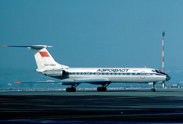 Ту-134А, идентичный захваченному