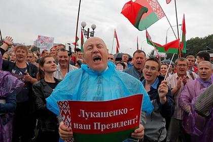Лукашенко заявил о вышедшей митинговать за него «силище» в три миллиона белорусов