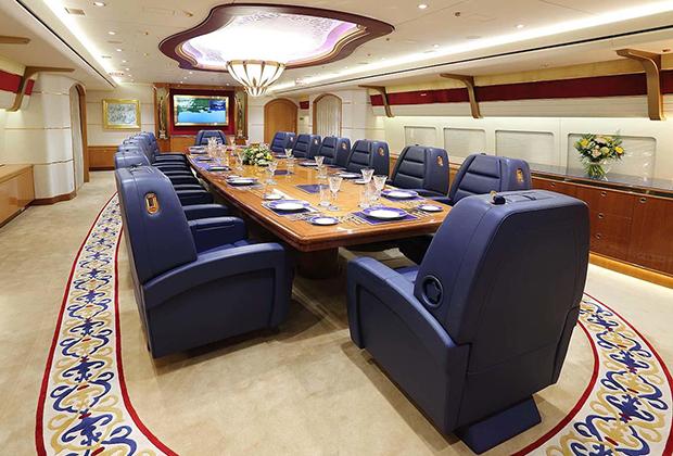 Внутреннее убранство личного самолета эмира Катара