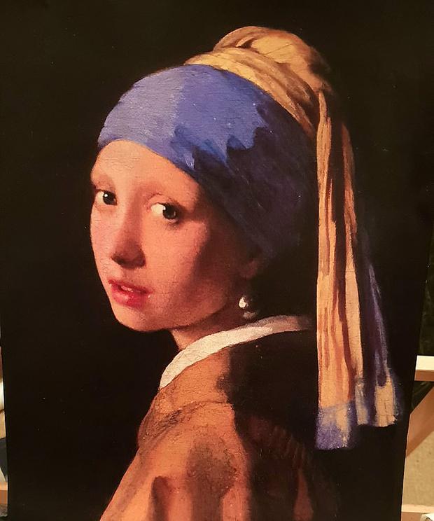 Копия «Девушки с жемчужной сережкой» Вермеера