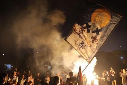 Закрытые границы Черногории объяснили протестами из-за церкви