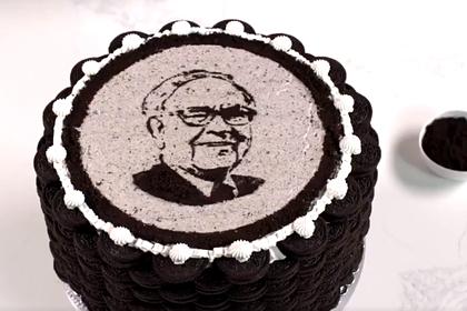 Билл Гейтс испек торт ко дню рождения известного миллиардера c его портретом