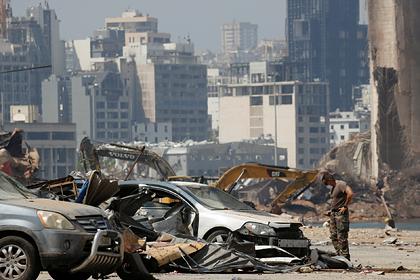Подсчитан ущерб от взрыва в Бейруте