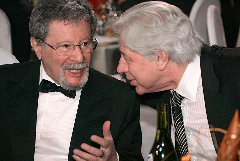 Генрих Падва (слева) и Генри Резник