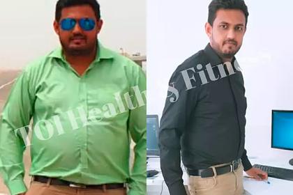 Мужчина похудел на 22 килограмма за семь месяцев и поделился секретом успеха