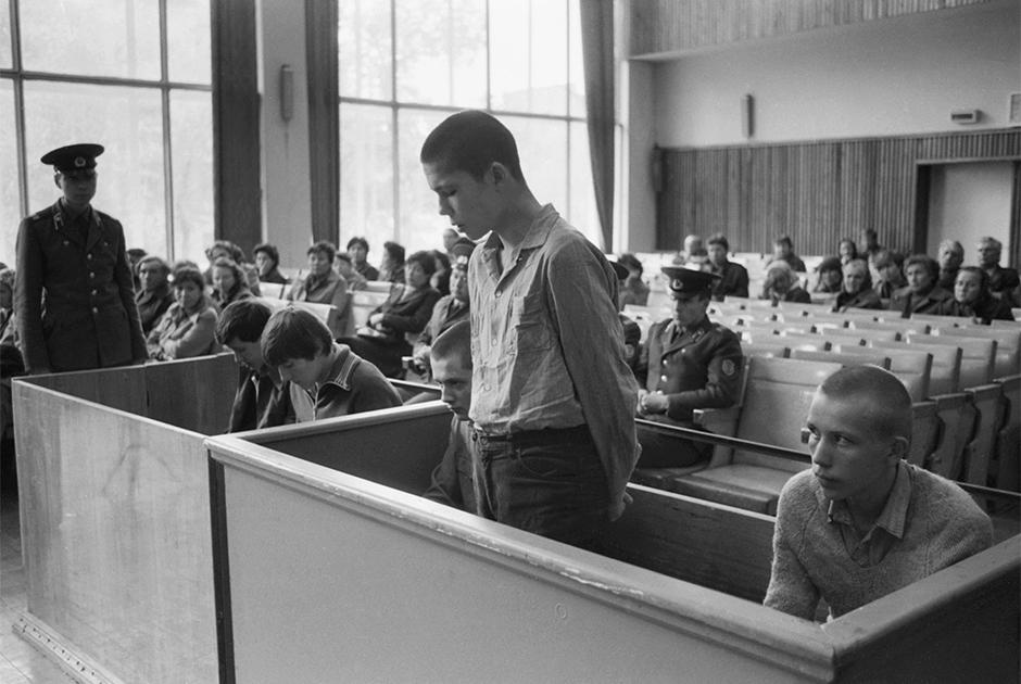 Участники судебного процесса в СССР