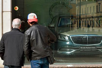 В России взлетели цены на машины