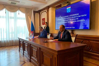 Ленобласть и «ФосАгро» договорились о новом совместном проекте