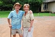 Кристин Робинсон с мужем