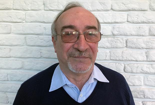 Один из создателей «Новичка» Леонид Ринк
