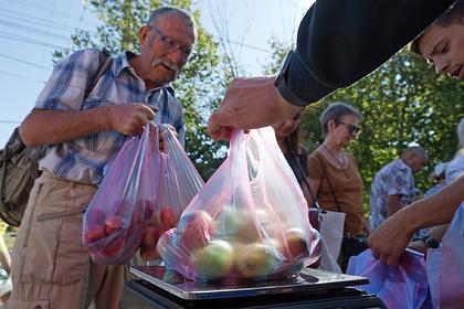 Еда оказалась рекордно дорогой для россиян