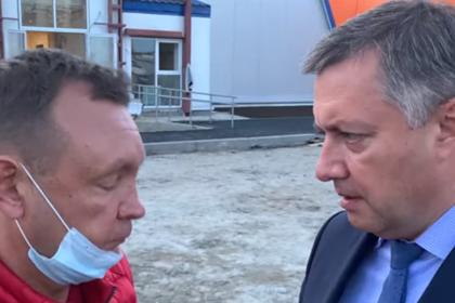 Подрядчик назвал сроки сдачи ФОК после разноса от иркутского губернатора