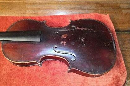 Россиянин обнаружил скрипку Страдивари в квартире умершей родственницы