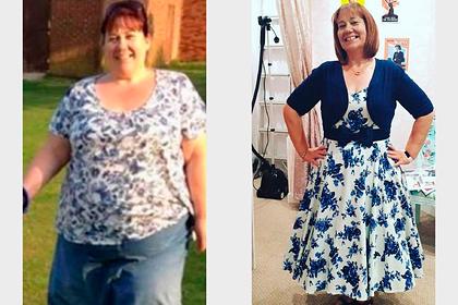 52-летняя женщина похудела на 63 килограмма и раскрыла секрет успеха