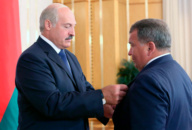 Александр Лукашенко и Юрий Чиж