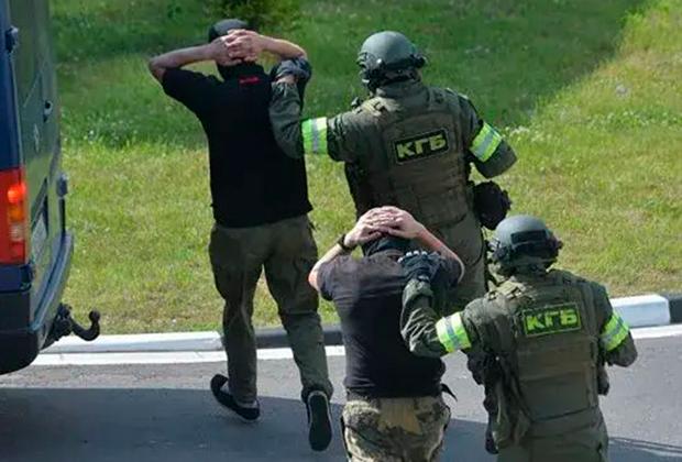 Задержание «российских боевиков»