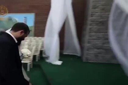Кадыров показал роскошную свадьбу своего племянника