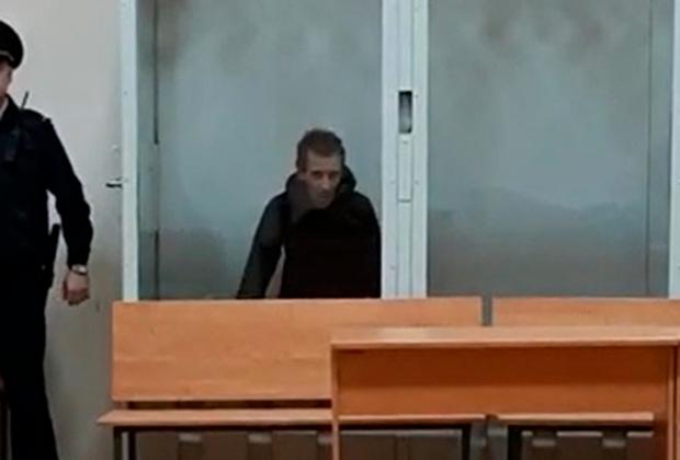 Михаил Туватин в зале суда