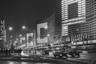 """Проспект Калинина (ныне — Новый Арбат) стал наглядным воплощением новой волны в советской архитектуре 60-х годов. Это был самый радикальный вариант модернистского градостроительства, реализованный в Москве. Здания-«книжки» должны были стать домами гостиничного типа для молодых семей, но в итоге проект не реализовали.<br><br>По праздникам фасады использовались для огромной надписи «СССР», появляющейся по букве на каждом из зданий при помощи светящихся окон. Позднее улицу станут называть «вставной челюстью Москвы» — ее высотные и инородные здания, резко контрастирующие с исторической застройкой, <a href=""""https://ru.wikipedia.org/wiki/Новый_Арбат"""" target=""""_blank"""">не понравились</a> жителям города."""