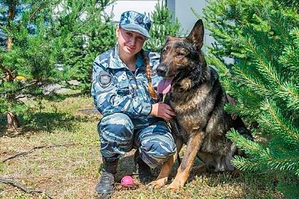Полицейская собака спасла отизнасилования российскую школьницу
