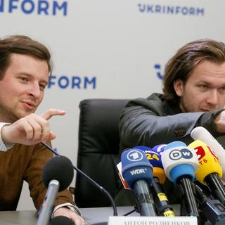 Антон Родненков и Иван Кравцов