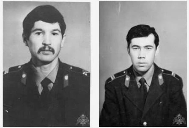 Погибшие сотрудники вневедомственной охраны Айрат Галеев (слева) и Залфир Ахтямов (справа)
