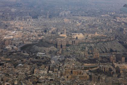 Израиль нанес авиаудар по Алеппо