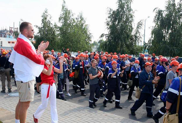 Забастовка на заводе «Гродно Азот»
