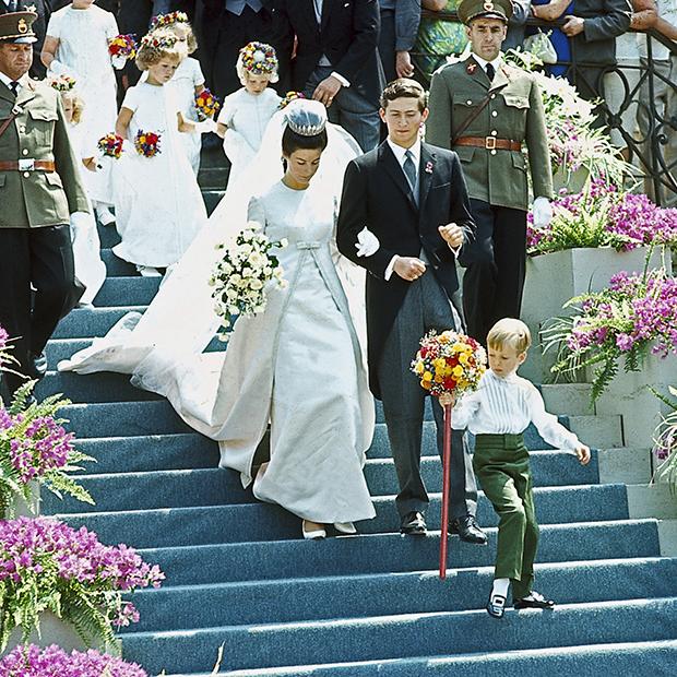 Свадьба Ханса-Адама II и Марии Кински фон Вхинитц унд Теттау