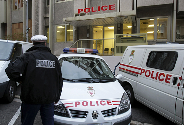 Арест Мусулина в Монако 16 ноября 2009 года