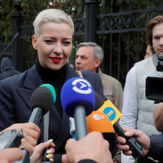 Мария Колесникова и Иван Кравцов (справа)